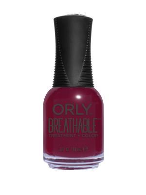 Профессиональный дышащий уход(цвет) за ногтями 903 THE ANTIDOTE ORLY. Цвет: сливовый