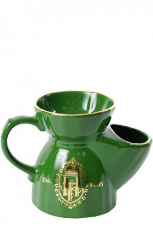 Кружка для бритья зеленая (фарфор) Truefitt&Hill. Цвет: бесцветный
