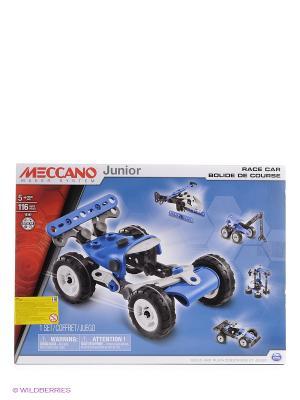 Игрушка Meccano Гоночная машина (5 моделей) SPIN MASTER. Цвет: синий