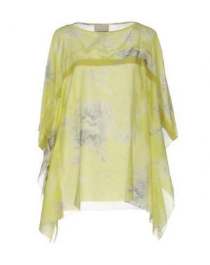 Блузка ROBERTA SCARPA. Цвет: светло-зеленый