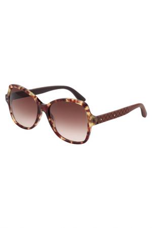 Солнцезащитные очки Bottega Veneta. Цвет: 003