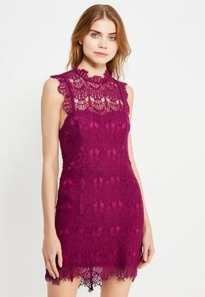 Платье Free People. Цвет: фиолетовый