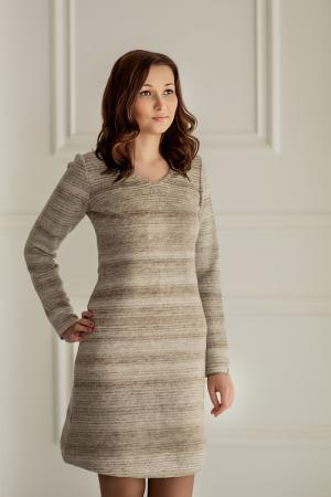 Платье Woolhouse. Цвет: бежевый