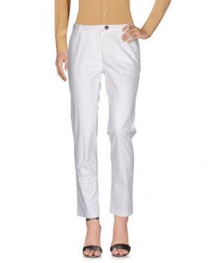 Повседневные брюки ALLEGRI A-TECH. Цвет: белый