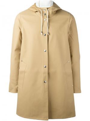 Пальто Moseback Stutterheim. Цвет: телесный