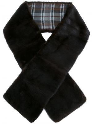 Fur scarf Loro Piana. Цвет: коричневый