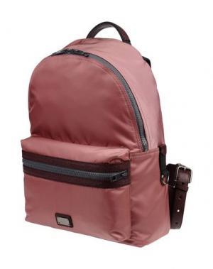 Рюкзаки и сумки на пояс DOLCE & GABBANA. Цвет: пастельно-розовый