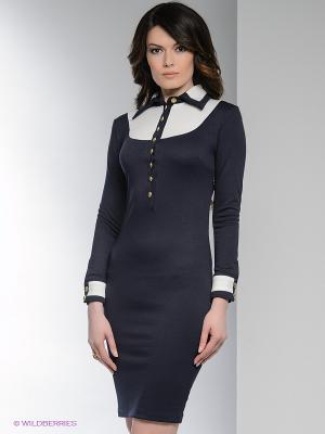 Платье Enna Levoni. Цвет: синий, белый