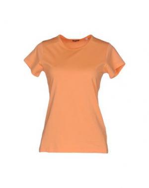 Футболка ASPESI. Цвет: оранжевый