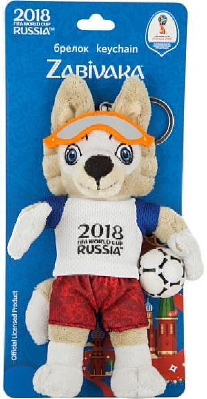 Брелок Волк Забивака 2018 FIFA World Cup Russia™, 16 см no brand