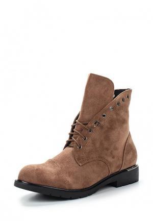 Ботинки Y & L. Цвет: бежевый