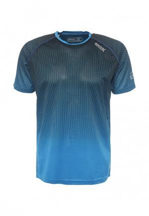 Футболка Regatta. Цвет: синий