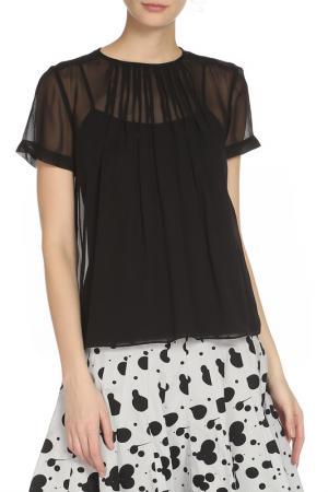 Блуза с коротким рукавом Marc by Jacobs. Цвет: черный