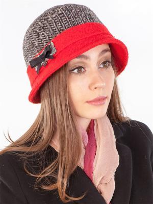 Шляпка LORICCI. Цвет: черный, красный, белый