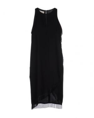 Короткое платье NANUSHKA. Цвет: черный