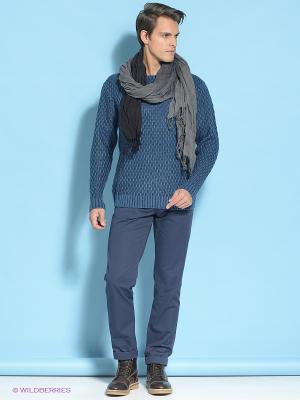 Пуловер E-Bound by Earth Bound. Цвет: синий