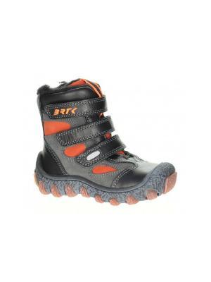 Ботинки Bartek. Цвет: коричневый,оранжевый,серый
