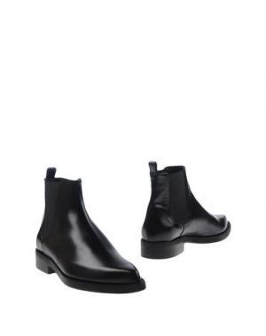 Полусапоги и высокие ботинки GAIA D'ESTE. Цвет: черный