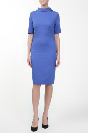 Платье Вена NATALIA PICARIELLO. Цвет: синий
