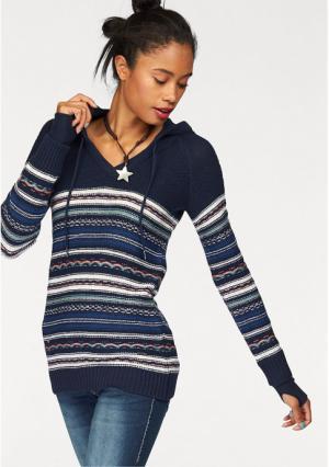 Пуловер Kangaroos. Цвет: темно-синий