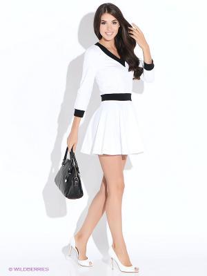 Платье Colambetta. Цвет: белый, черный