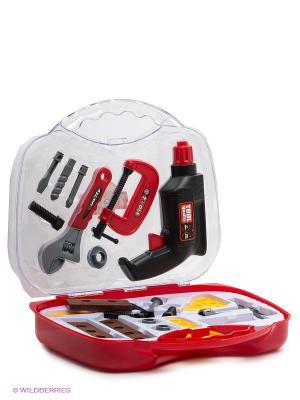 Набор инструментов VELD-CO. Цвет: прозрачный, красный, желтый, черный