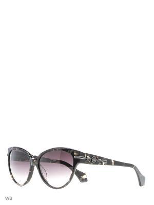 Солнцезащитные очки VW 903S 02 Vivienne Westwood. Цвет: бронзовый, коричневый