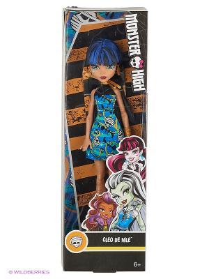 Кукла Клео Де Нил Monster High. Цвет: черный, голубой