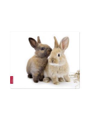 Коврик для мыши Speedlink SILK, Rabbit. Цвет: белый