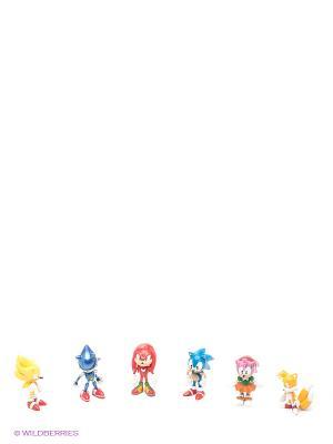 Набор фигурок Соник Sonic. Цвет: синий, красный, желтый
