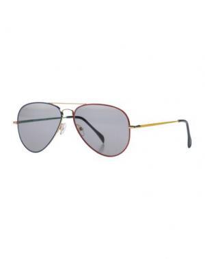 Солнечные очки SHERIFF & CHERRY. Цвет: золотистый