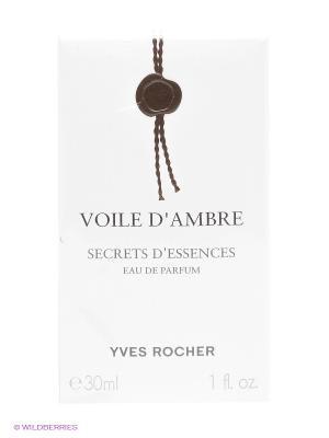Парфюмерная вода Амбровая вуаль Yves Rocher. Цвет: белый