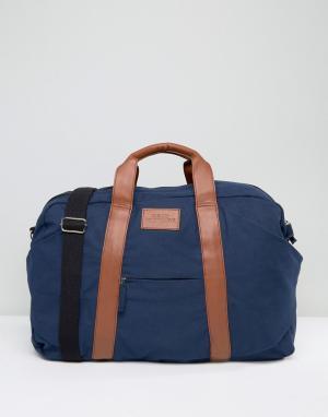 Dead Vintage Темно-синяя сумка. Цвет: синий