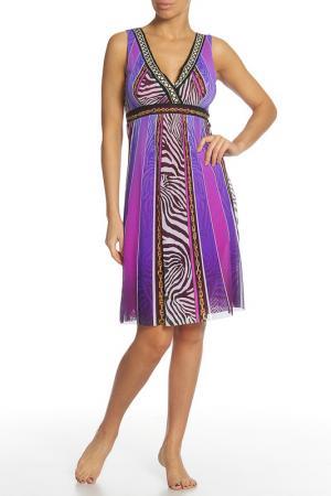 Платье Angelo Marani. Цвет: сиреневый