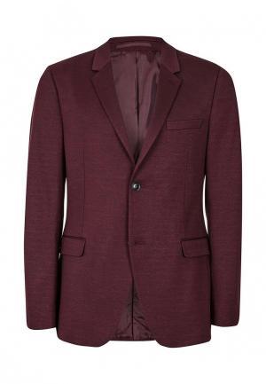 Пиджак Topman. Цвет: бордовый