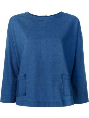 Рубашка  Joni Current/Elliott. Цвет: синий