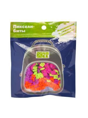 Бит для панели рюкзака KIDS, 400 шт., 4All. Цвет: оранжевый, розовый, светло-зеленый