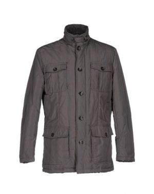 Куртка ADHOC. Цвет: голубиный серый