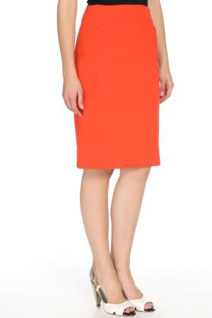 Юбка DVF. Цвет: оранжевый