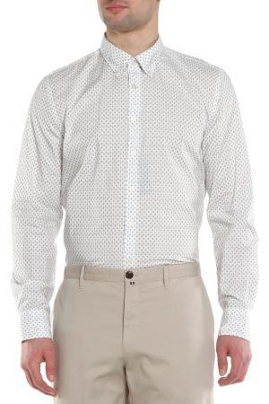 Рубашка Marc OPolo O'Polo. Цвет: серый