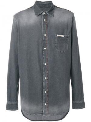 Джинсовая рубашка Philipp Plein MDP0033PDE001N12211199