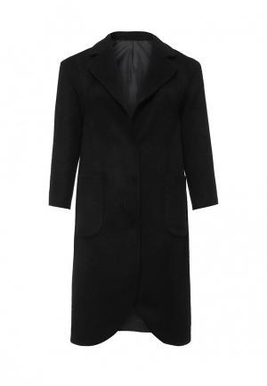 Пальто W&B. Цвет: черный