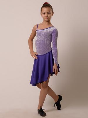 Купальник EMDI. Цвет: фиолетовый