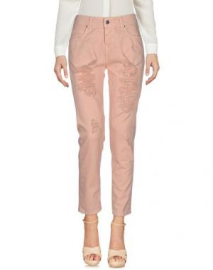 Повседневные брюки LA KORE. Цвет: телесный