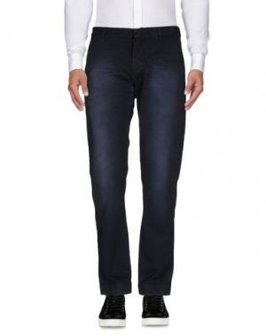 Повседневные брюки DNM-BRAND. Цвет: темно-синий