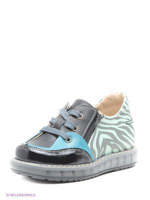 Ботинки TAPiBOO. Цвет: зеленый, черный