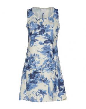 Короткое платье CONTE OF FLORENCE. Цвет: синий