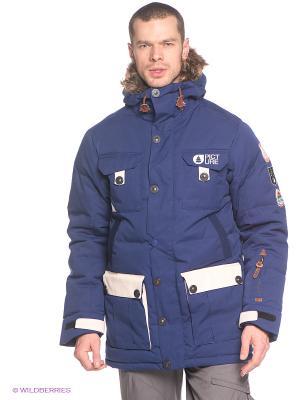 Куртка Picture Organic. Цвет: темно-синий