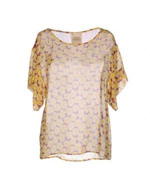 Блузка GARAGE NOUVEAU. Цвет: желтый