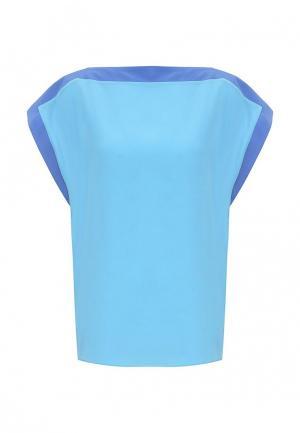 Блуза Byblos. Цвет: голубой